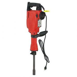 ZENY 2200W Heavy Duty Electric Demolition Jack Hammer Concrete Breaker w/Case, Gloves 2 Chisel 2 Punch Bit Set