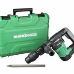 Metabo HPT H41MB2 Demolition Hammer, 11.5 lbs., SDS Max, Low Vibration Handle, 7.4 ft-lbs. Impact Energy, Aluminum Connecting Rod, 1-Year Warranty (Renewed)