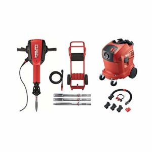 Hilti 15 Amp 120-Volt 1-1/8 in. TE 3000-AVR Polygon Demolition Jack Hammer Concrete Breaker with Dust Removal System