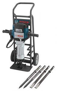 Bosch BH2770VCD 120-Volt 1-1/8 Hex Breaker Hammer Brute Turbo Deluxe Kit (Renewed)