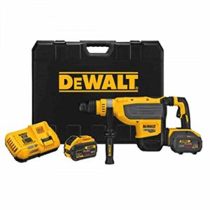 DEWALT DCH733X2R FLEXVOLT 60V MAX 1-7/8-Inch Cordless SDS MAX Rotary Hammer Kit (Renewed)