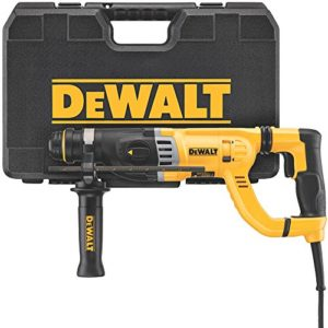 DEWALT Rotary Hammer Drill with Shocks, D-Handle, SDS, 1-1/8-Inch (D25263K)