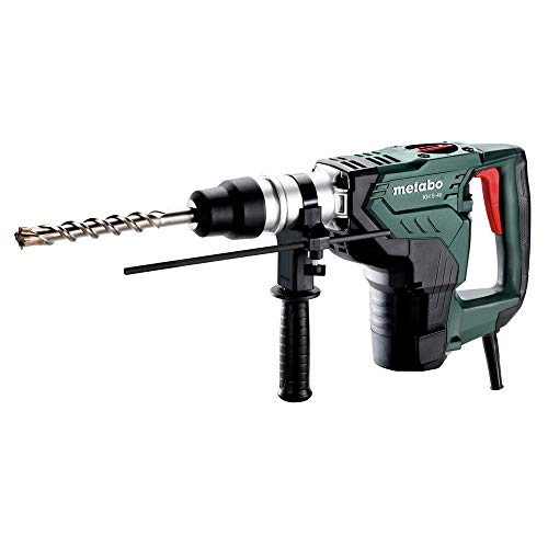 Metabo– 1-9/16″ SDS-max Rotary Hammer – 620 Rpm – 10.0 Amp – 7.1 J – 2800 BPM W/Case (600763620 5-40), Rotary Hammers