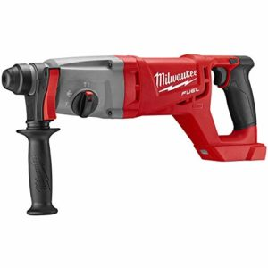 Milwaukee Electric Tool 2713-20 Milwaukee M18 Fuel 18V Lithium-Ion Brushless Cordless SDS Plus D-Handle Rotary Hammer, 1″, Bare Tool, Plastic, 17.63″ x 3.85″ x 6.61″