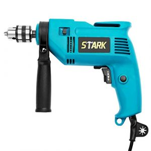 Stark 3/8-Inch Electric Drill Variable Speed Trigger Rotating Handle 600W Corded Drill Depth Gauge Drilling Wood Steel