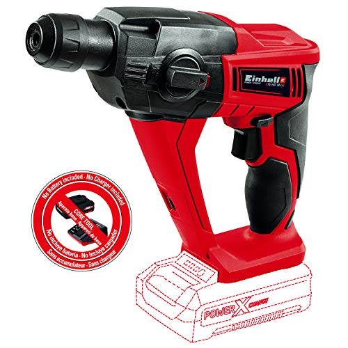 Einhell TE-HD 18 Li 18-Volt Power X-Change Cordless 1/2-Inch Rotary Hammer, Tool Only