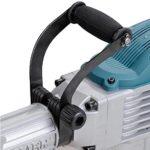 GC Global Direct Powered Demolition Jackhammer Breaker Tool Case Set (Silver w/ Blue 3600W)