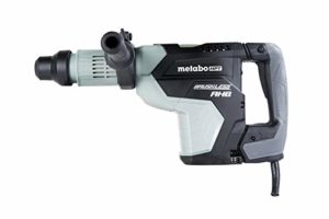 Metabo HPT Rotary Hammer Drill, 1-3/4-Inch, SDS Max, AC Brushless Motor, AHB Aluminum Housing Body (DH45ME)