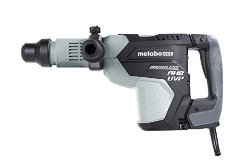 Metabo HPT Rotary Hammer Drill, 1-3/4-Inch, SDS Max, AC Brushless Motor, AHB Aluminum Housing Body, UVP User Vibration Protection (DH45MEY)