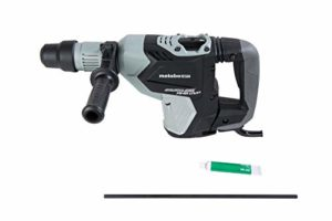 Metabo HPT Rotary Hammer Drill, 1-9/16-Inch, SDS Max, AC Brushless Motor, AHB Aluminum Housing Body, UVP User Vibration Protection (DH40MEY)