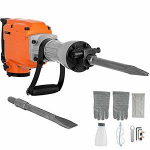 SHIJING 2200W Hammer Heavy-Duty Concrete Crusher 1400 Demolition Hammer Drill