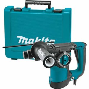 "Makita HR2811F 1-1/8"" Rotary Hammer, accepts SDS-PLUS bits, Teal"