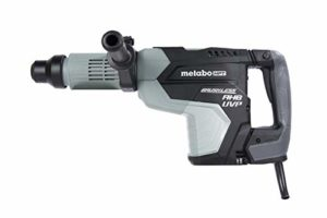 Metabo HPT Rotary Hammer Drill, 2-1/16-Inch, SDS Max, AC Brushless Motor, AHB Aluminum Housing Body, UVP User Vibration Protection (DH52MEY)