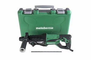 Metabo HPT Rotary Hammer | SDS Plus | 1-Inch, 7.5-Amp | For Drilling | Chipping and Hammer Drilling (DH26PF)