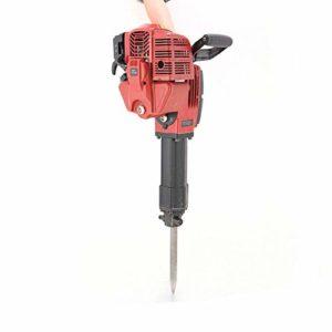DYRABREST 1700W Breaker Hammer, 52CC 2-StrokeJack Hammer Gas Demolition Gasoline Breaker Jack Hammer Punch Drill Concrete Breaker 2.4HP