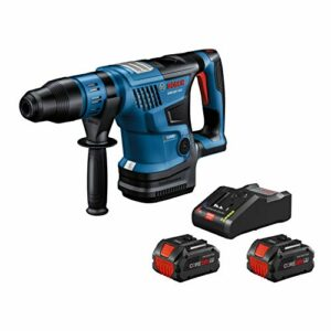 Bosch GBH18V-36CK24 18V Hitman Connected-Ready SDS-max 1-9/16 In. Rotary Hammer Kit with (2) CORE18V 8.0 Ah PROFACTOR Performance Batteries