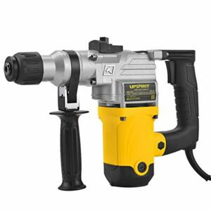 Rotary Hammer Drill, Dual-Purpose High-Power Percussion Drill with Electric Hammer And Electric Pick, Industrial Grade 26 Electric Hammer