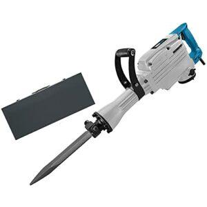 Bluetooth earphone 1700W Electric Demolition Jack Hammer Drill Heavy Duty Concrete Breaker 1700 RPM Jackhammer Demolition Drills for Brick Wood Demolition Rconcrete Walls Tile Removal