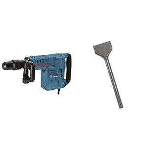 Bosch 11316EVS SDS-Max Demolition Hammer & 3 In. x 12 In. SDS-max Scaling Chisel Hammer Steel HS1910