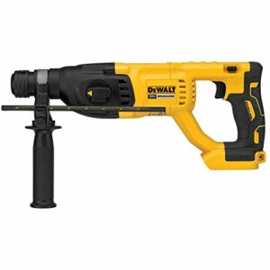 """DEWALT DCH133B 20V Max XR Brushless 1"""" D-Handle Rotary Hammer Drill (Tool Only) (Renewed)"""