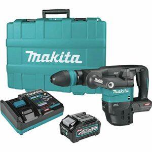 Makita GMH01M1 40V Max XGT Brushless Lithium-Ion 15 lbs. Cordless Demolition Hammer Kit (4 Ah)