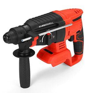 Airbike 21V Handheld Electric Screwdriver Hammer Demolition Hammer Impact Drill Concrete Breaker Set Power Tool For Battery