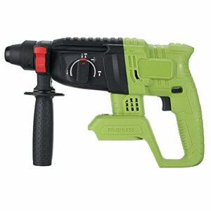 Airbike 1200W Electric Hammer Brushless Cordless Hammer Drill Concrete Breaker Punch Jackhammer Power Drill Tool