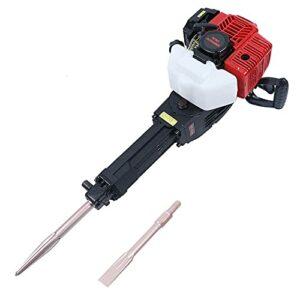 DNYSYSJ 52CC Gasoline Demolition Hammer Jack Hammer Heavy Duty Concrete Breaker Punch Drill