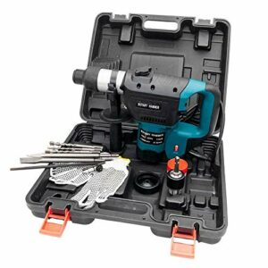 1-1/2″ SDS Electric Rotary Hammer Drill Plus Demolition Variable Speed w/Bits US
