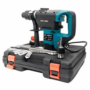 1-1/2″ SDS Electric Rotary Hammer Drill Plus Demolition Variable Speed w/Case