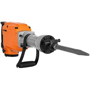 DACHENZI 2200W Electric Demolition Jack Hammer Drill W/Chisel Concrete Breaker Crushing Heavy Duty Rotary Impact Picks