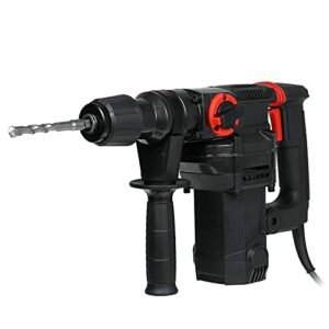 Electric Drill Impact Drill Electric Impact Hammer,4980W 220V AC Rotary Drill Demolition Hammer Power Tools 8 Pcs Accessories