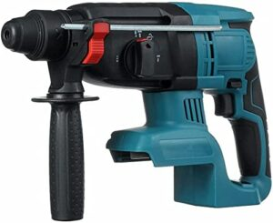 Mifty Hammer 18V 4 Functions Electric Brushless Cordless Rotary Hammer Drill Rechargeable Hammer 27Mm Impact Drill cordeddrill