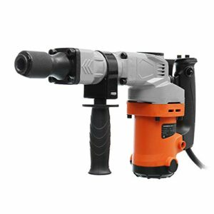 QWERTOUY 110/220V Electric Drills 3000W 3000BPM Electric Demolition Electric Hammer Drill Concrete Breaker Punch Jackhammer 4500r/min,A