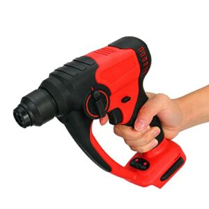 WGang 1200W Cordless Rotary Hammer, Drill Brushless Electric Hammer Impact Drilling Electric Screwdriver Tools