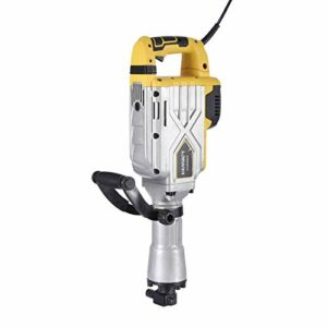 3800W Electric Demolition Hammer, Heavy Duty Concrete Breaker, 2100 BPM Jack Hammer Demolition Drills with Double-ended Chisel