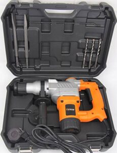 Hoteche 1″ 28mm SDS Plus Rotary Hammer Drill 3 Functions 900W P800302A